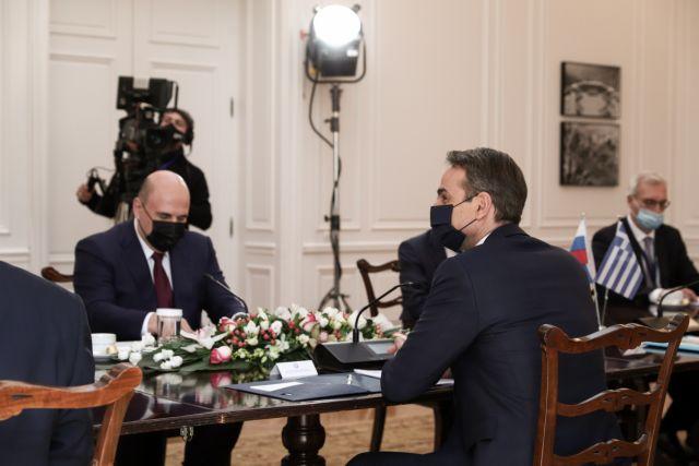 Για τον τουρισμό συζήτησε με τον Ρώσο πρωθυπουργό Μισούστιν ο Μητσοτάκης | tanea.gr
