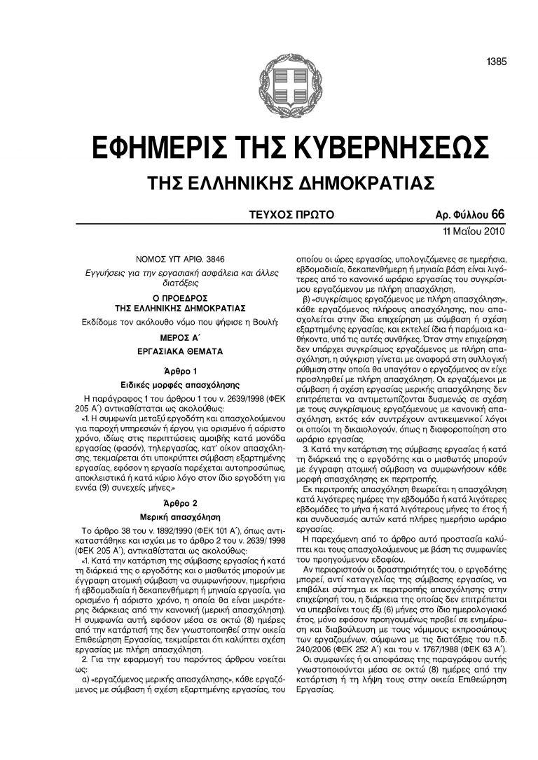 Ευέλικτο ωράριο: τότε ψήφιζαν, τώρα καταγγέλλουν... | tanea.gr