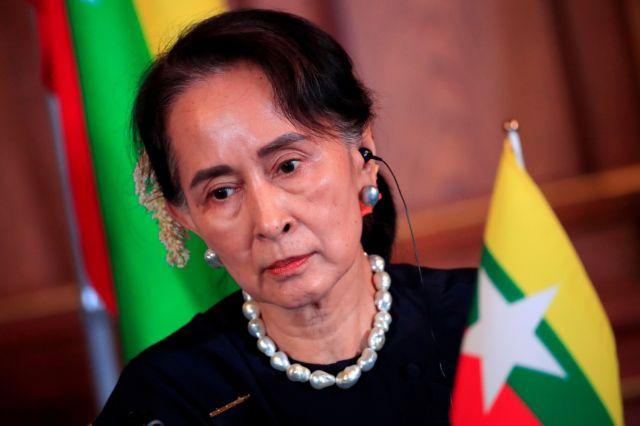 Μιανμάρ: Η ΕΕ καταγγέλλει τα σχέδια της εκλογικής επιτροπής της χούντας να διαλύσει το κόμμα της Σου Τσι | tanea.gr