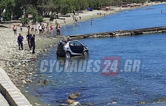 Τήνος: Βούτηξε με το αυτοκίνητο στη θάλασσα προσπαθώντας να αποφύγει τη σύλληψη | tanea.gr