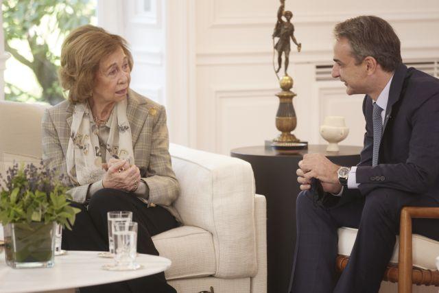 Σε Μαξίμου και Προεδρικό η βασίλισσα Σοφία της Ισπανίας – Τι είπε με Μητσοτάκη για το Τατόι | tanea.gr