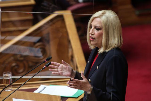 Γεννηματά για εργασιακό νομοσχέδιο: Νομιμοποιείται η εργασιακή ζούγκλα - Τα επίμαχα σημεία | tanea.gr