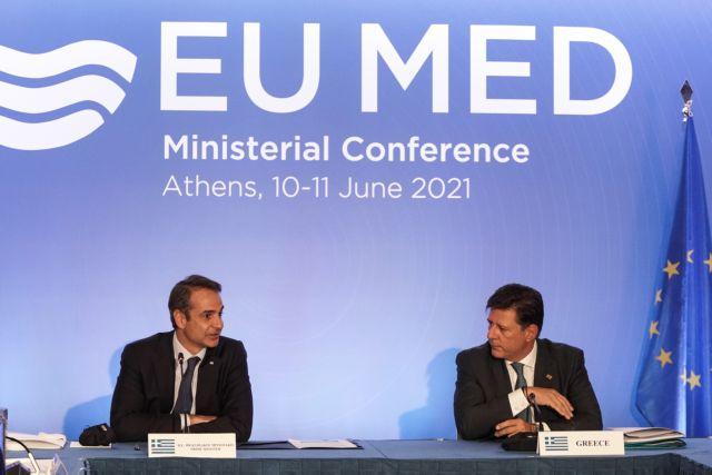 Μητσοτάκης – EUMed: Διάλογος για αποκλιμάκωση με σεβασμό του διεθνούς δικαίου από την Τουρκία | tanea.gr