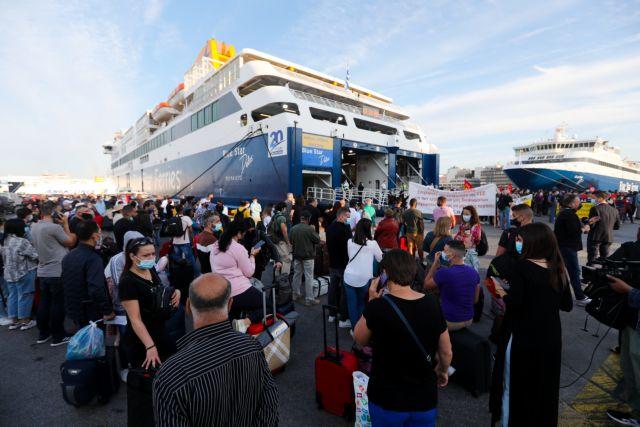 Ανεστάλη η απεργία των ναυτικών – Μεγάλη η ταλαιπωρία των επιβατών στον Πειραιά | tanea.gr