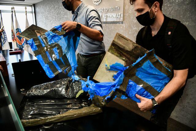 Βίντεο-ντοκουμέντο από την κρύπτη που βρέθηκαν οι κλεμμένοι πίνακες της Εθνικής Πινακοθήκης | tanea.gr