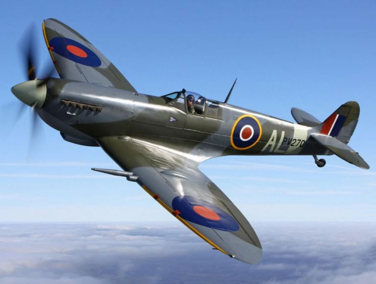 Spitfire: Ξανά στον ελληνικό ουρανό το θρυλικό μαχητικό του Β' Παγκοσμίου Πολέμου | tanea.gr