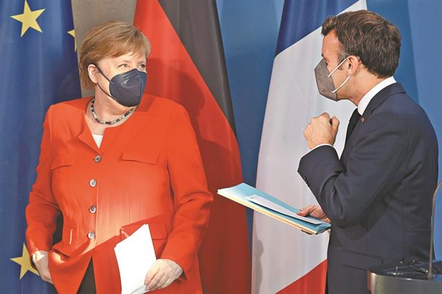Αιφνιδιαστικό άνοιγμα Γερμανίας - Γαλλίας σε Ρωσία   tanea.gr