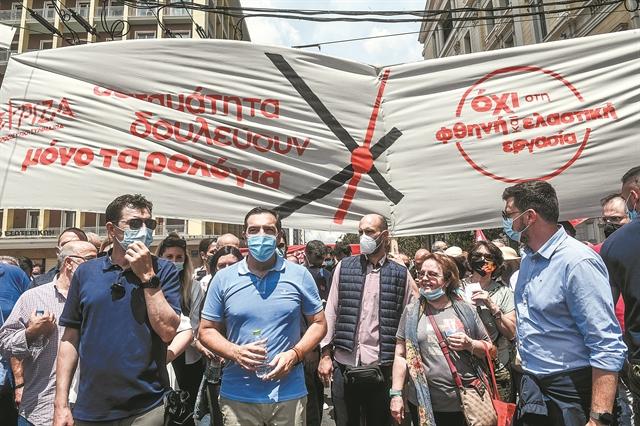 Παγιδευμένος ο ΣΥΡΙΖΑ στο αντιδεξιό μέτωπο | tanea.gr