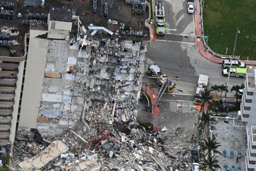 Τραγωδία χωρίς τέλος στο Μαϊάμι: 4 νεκροί και 159 αγνοούμενοι | tanea.gr