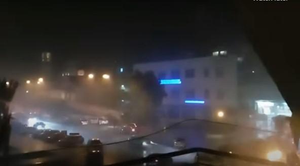 Μεγάλη καταιγίδα στη Ραφήνα   tanea.gr