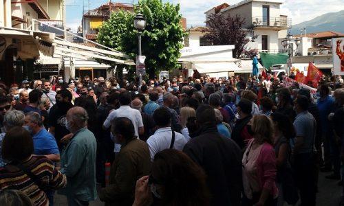 Απεργία: Χτύπησαν τον πρώην βουλευτή του ΣΥΡΙΖΑ, Χρήστο Μαντά   tanea.gr