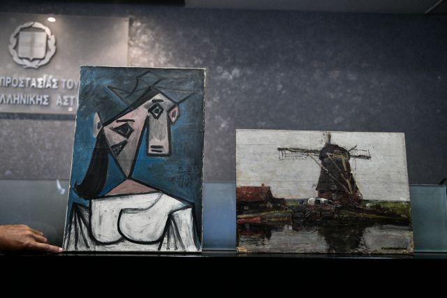 Εθνική Πινακοθήκη: Οι πρώτες εικόνες από τους κλεμμένους πίνακες   tanea.gr