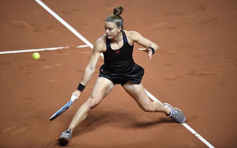 Μαρία Σάκκαρη: Ανετη νίκη και πρόκριση στον τρίτο γύρο (2-0) | tanea.gr