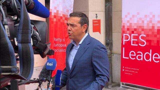 Τσίπρας: Κρίσιμη για το μέλλον της Ευρώπης η συνεργασία όλων των προοδευτικών δυνάμεων | tanea.gr