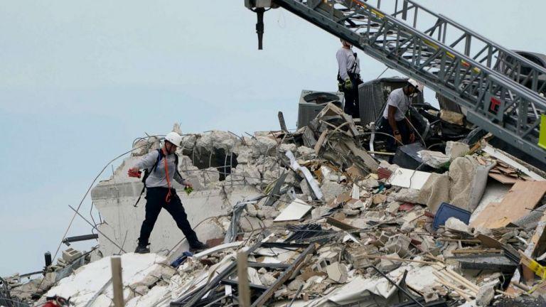 Κατάρρευση κτιρίου στο Μαϊάμι: Αγωνιώδεις έρευνες για τους 99 αγνοούμενους – Τρεις νεκροί και 12 τραυματίες ο απολογισμός | tanea.gr