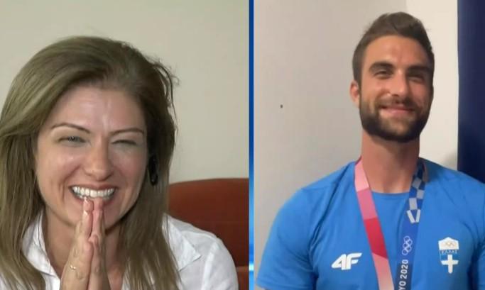 Η συνάντηση του χρυσού Ολυμπιονίκη Στέφανου Ντούσκου με τη μητέρα του στον «αέρα» | tanea.gr