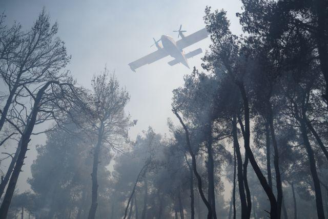 Φωτιά σε Σταμάτα, Ροδόπολη και Διόνυσο: «Η κατάσταση δείχνει καλύτερη»   tanea.gr