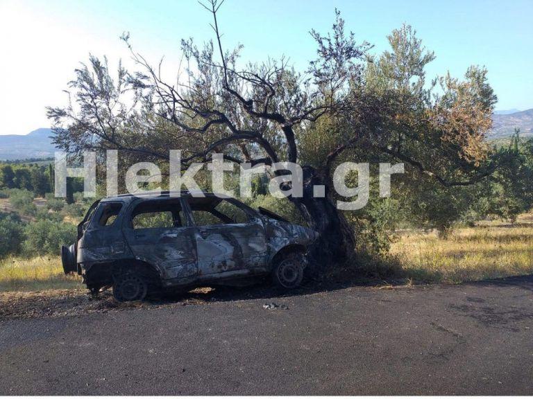 Κορινθία: Βρέθηκε καμένο όχημα με απανθρακωμένο τον οδηγό | tanea.gr