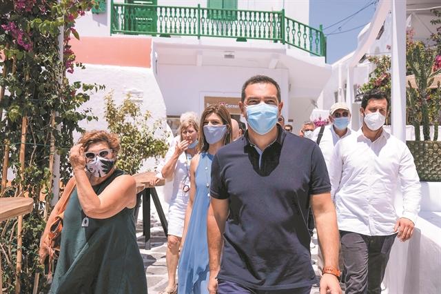 Γραμμή αντιπολίτευσης από τη Μύκονο | tanea.gr