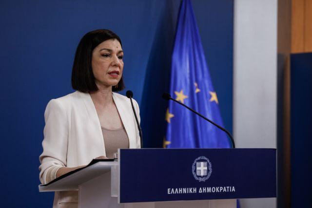 Δείτε live την ενημέρωση από την κυβερνητική εκπρόσωπο Αριστοτελία Πελώνη   tanea.gr