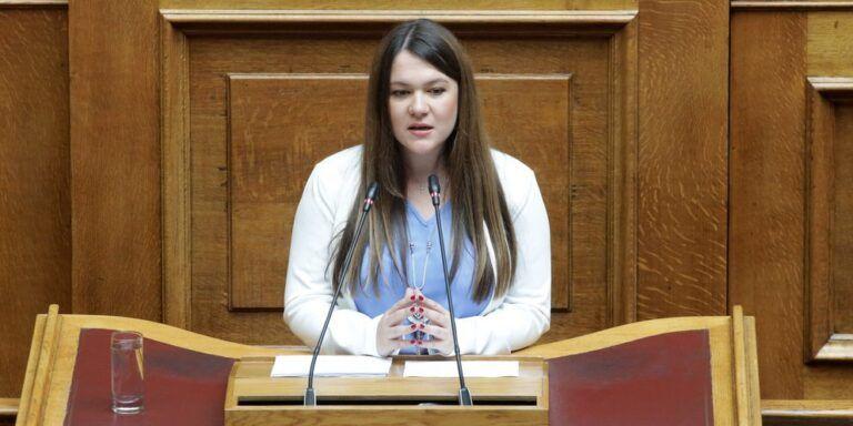 Βουλή: Ανακοινώθηκε και επίσημα η ανεξαρτητοποίηση της Αδάμου από το ΜέΡΑ25   tanea.gr