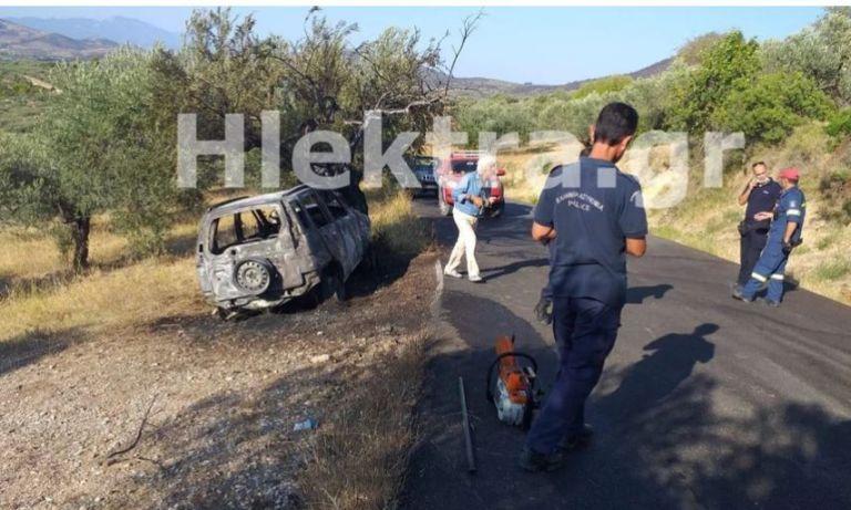 Κορινθία: Ο ιερέας Αλμυρής είναι ο νεκρός που εντοπίστηκε στο καμένο όχημα   tanea.gr