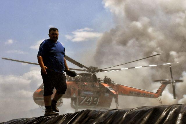 Ανεξέλεγκτη η φωτιά στην Κορινθία | tanea.gr