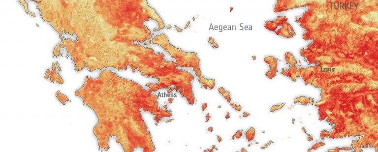 Καύσωνας: Στους 50 βαθμούς έφτασε η πραγματική θερμοκρασία την Τετάρτη | tanea.gr