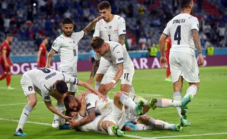 Ιταλία για κούπα: Απέκλεισε το Βέλγιο και έδωσε ραντεβού με την Ισπανία στον ημιτελικό   tanea.gr