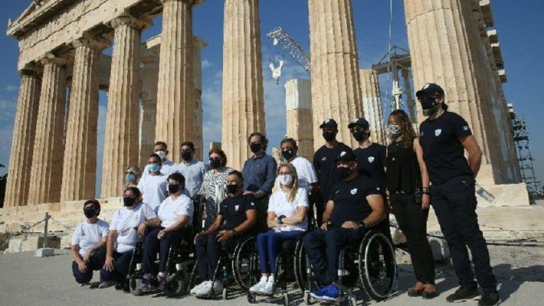 Στην Ακρόπολη η Παραολυμπιακή Ομάδα   tanea.gr