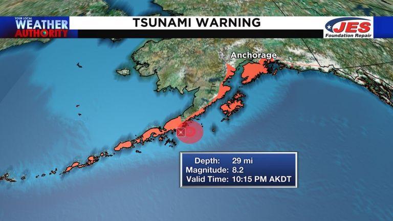 Ισχυρός σεισμός 8,2 Ρίχτερ στην Αλάσκα – Προειδοποίηση για τσουνάμι | tanea.gr