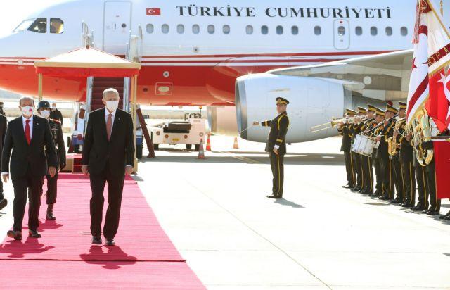 Ερντογάν: Λίγο μετά τις 15.00 το μεσημέρι της Δευτέρας θα φτάσει στα Κατεχόμενα   tanea.gr