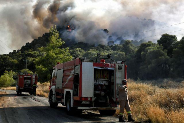 Σε εξέλιξη οι πυρκαγιές σε Νέα Αλμυρή Κορινθίας και Ασκληπιείο Αργολίδας | tanea.gr