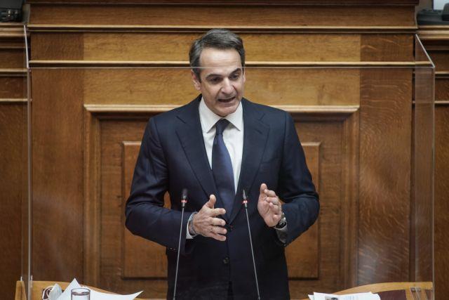 Δείτε live: Η ομιλία του Κυριάκου Μητσοτάκη στη συζήτηση για τον αυτοκινητόδρομο Ε-65   tanea.gr