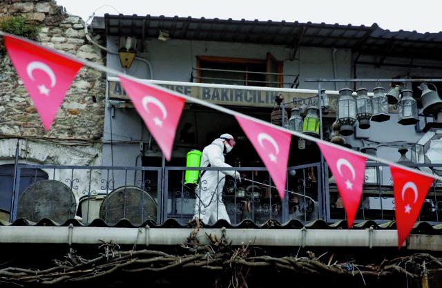 Έντονη ανησυχία για την πανδημία στην Τουρκία   tanea.gr