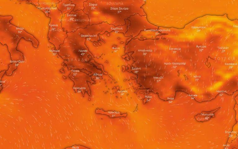 Καύσωνας: Νέο εκτακτο δελτίο καιρού από την ΕΜΥ – Θερμοκρασίες έως 44 βαθμούς | tanea.gr