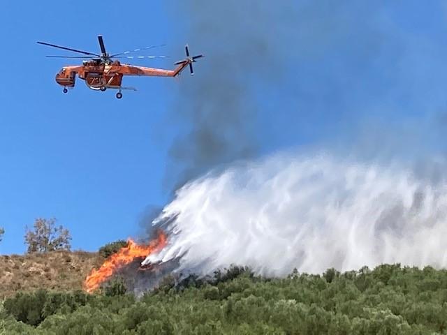 Ζάκυνθος: Φωτιά στην περιοχή Νερατζούλες | tanea.gr
