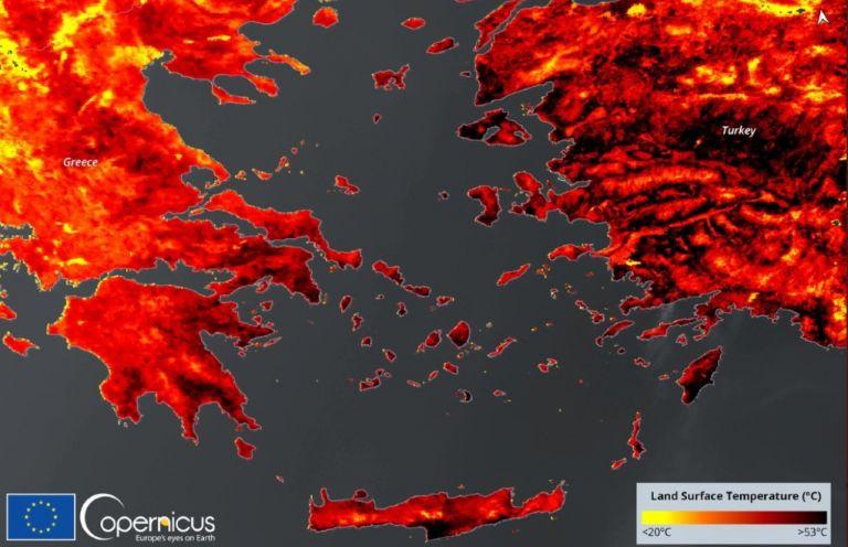 Μέχρι 53 βαθμούς η θερμοκρασία εδάφους στην Ελλάδα   tanea.gr