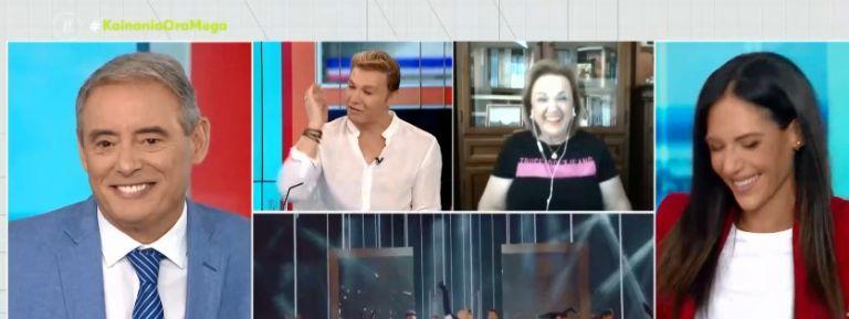 Ματίνα Παγώνη – Τι ζήτησε on air από τον Τάκη Ζαχαράτο;   tanea.gr