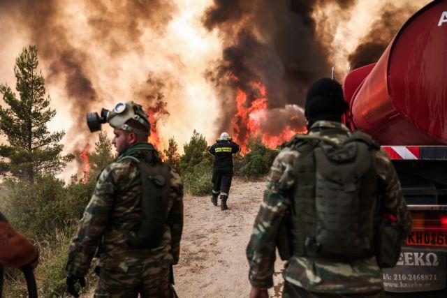 Πύρινη κόλαση στη Βαρυμπόμπη – Εκκενώνεται η Δροσοπηγή – Απίστευτη καταστροφή | tanea.gr