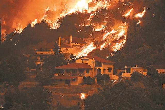 Εκθεση προέβλεπε την καταστροφή από τις φωτιές   tanea.gr