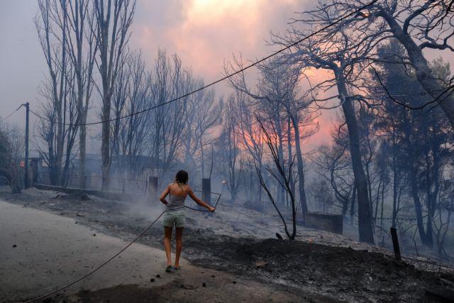Φωτιά στη Βαρυμπόμπη – Πλιάτσικο στα καμένα καταγγέλλουν οι κάτοικοι | tanea.gr