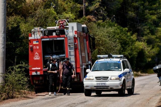 Μαρκόπουλο – Φωτιά καίει χαμηλή βλάστηση – Σηκώθηκαν κι εναέρια μέσα   tanea.gr