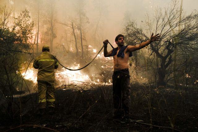Φωτιές – Εκτενή ρεπορτάζ στα ξένα Μέσα για τις πυρκαγιές που μαίνονται στη χώρα   tanea.gr