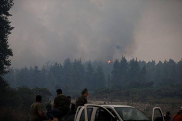 Φωτιά στην Εύβοια – Οι αναζωπυρώσεις δεν πτοούν πυροσβέστες κι εθελοντές στα πύρινα μέτωπα   tanea.gr