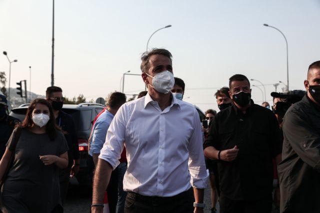 Μητσοτάκης από Βαρυμπόμπη – Δύσκολη η πυρκαγιά σε συνθήκες ακραίου καύσωνα   tanea.gr