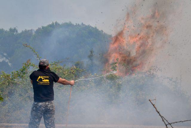 Φωτιές στη Μεσσηνία – Κραυγή αγωνίας από τους κατοίκους σε Διαβολίτσι και Καρνάσι | tanea.gr