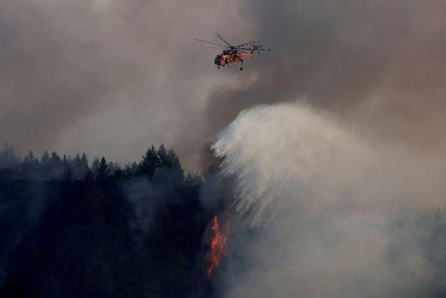 Φωτιές – Σαρώνει η πύρινη λαίπαπα τη Γορτυνία  – Για 9η μέρα καίγεται η Εύβοια   tanea.gr