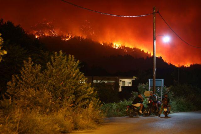 Φωτιές – Δορυφορικές εικόνες αναδεικνύουν το μέγεθος της καταστροφής   tanea.gr
