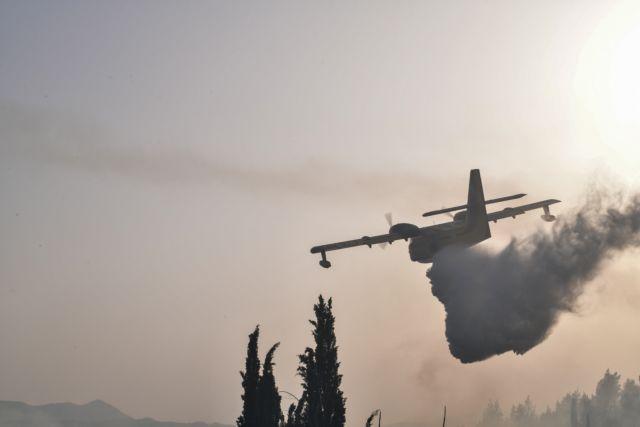 Φωτιές – Ενεργό το μέτωπο στη Γορτυνία, σηκώθηκαν τα εναέρια – Τι γίνεται στην Εύβοια   tanea.gr